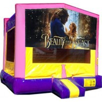 Beauty and the Beast Bounce House