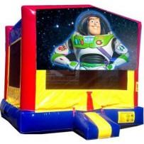 Buzz Lightyear Bounce House