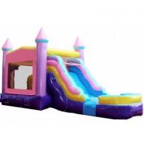 (A) Castle Modular Bounce Slide combo Girl (Wet or Dry)