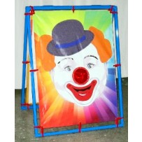 (A) Clown Bean Bag Toss