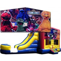 Sesame Street Bounce Slide combo (Wet or Dry)