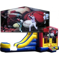 Sports Banner Bounce Slide combo (Wet or Dry)