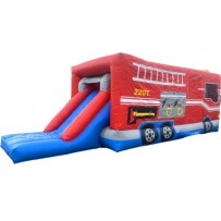 Fire Truck Obstacle Course