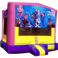 Frozen Pink or Blue Bounce House
