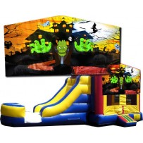 Halloween Bounce Slide combo (Wet or Dry)
