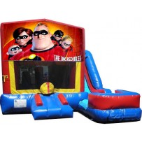Incredibles 7n1 Bounce Slide combo (Wet or Dry)