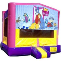 Lady and the Tramp Bounce House