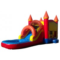 (A) Castle Modular Bounce Slide combo (Wet or Dry)