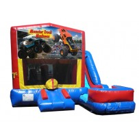 Monster Truck 7N1 Bounce Slide combo (Wet or Dry)