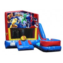 Power Rangers 7N1 Bounce Slide combo (Wet or Dry)