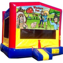 Western Fun Bounce House