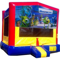 Monsters Inc Bounce House