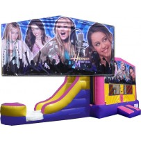 Hannah Montana Bounce Slide combo (Wet or Dry)