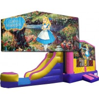Alice in Wonderland Bounce Slide combo (Wet or Dry)
