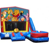 Winnie the Pooh 7n1 Bounce Slide combo (Wet or Dry)