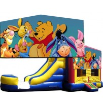 Winnie the Pooh Bounce Slide combo (Wet or Dry)