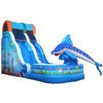 18ft Aquatic Playland Wave Wet-Dry Slide