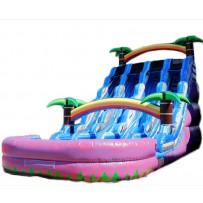 20ft Triple Paradise Slide Wet/Dry slide