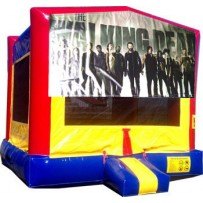 Walking Dead Bounce House