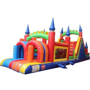 40ft Castle Dry Obstacle Course