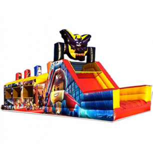 50ft Giant Lego Movie Obstacle Course