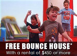 free bounce house